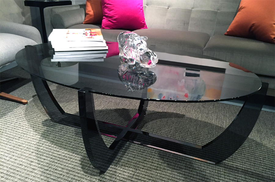 ARCO COFFEE TABLE (BLACK)