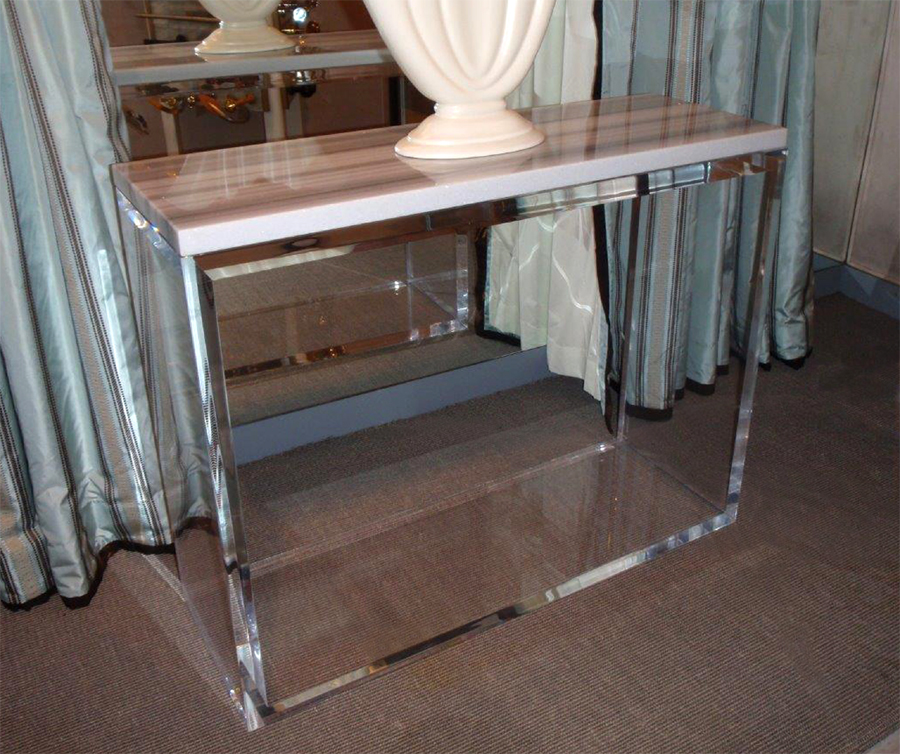 NIGHT AND DAY CONSOLE WITH MARBLE TOP
