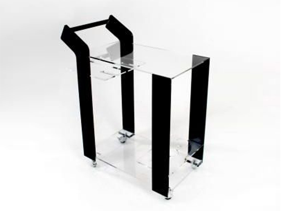 YING-YANG BAR CART