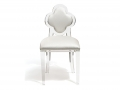 CLOVER BACK CHAIR (CLEAR)