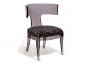 T-BACK OCCASIONAL CHAIR (BLACK)