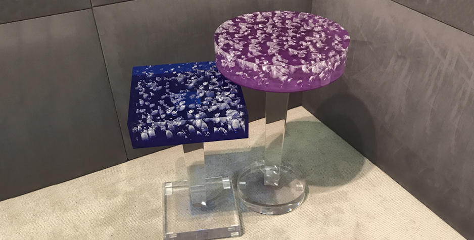 Bubble Top Side Tables